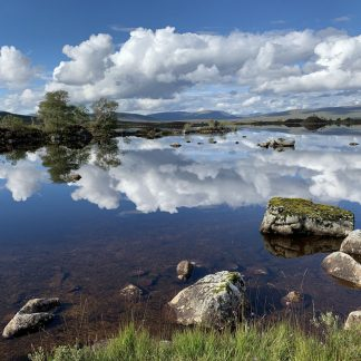 Loch Tulla , Black Mount Giclee Limited Edition Print